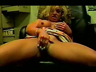 lady workplace fuck and masturbation