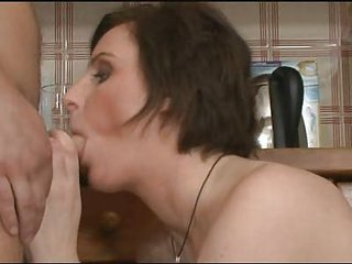 european mature babe  gangbangs sons boyfriend