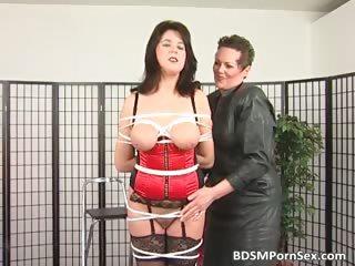 bondage game where brunette desperate lady part6